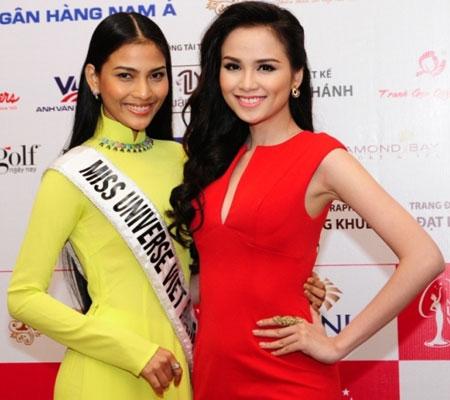Trương Thị May kém sắc trước vẻ đẹp rực rỡ của hoa hậu Diễm Hương 2