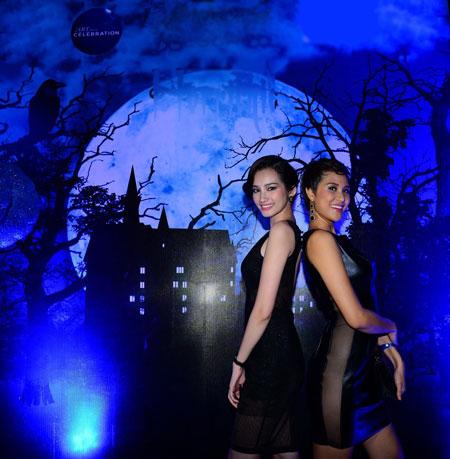 Phương Mai-Trúc Diễm gợi cảm trong lễ Halloween 9