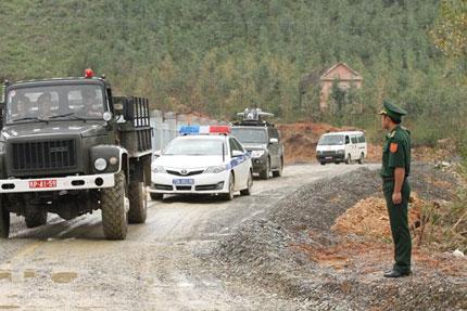 Vũng Chùa gấp rút hoàn thành con đường đón Đại tướng về quê 7