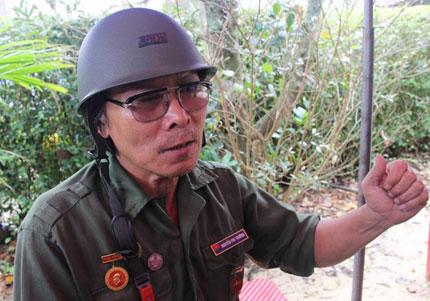Người thương binh vượt ngàn cây số về viếng Đại tướng 1