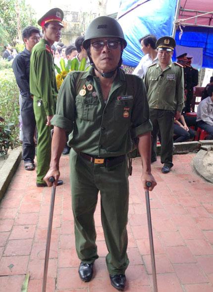 Người thương binh vượt ngàn cây số về viếng Đại tướng 2