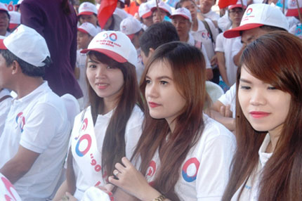 TP HCM: Tưng bừng chào đón dân số vàng 9