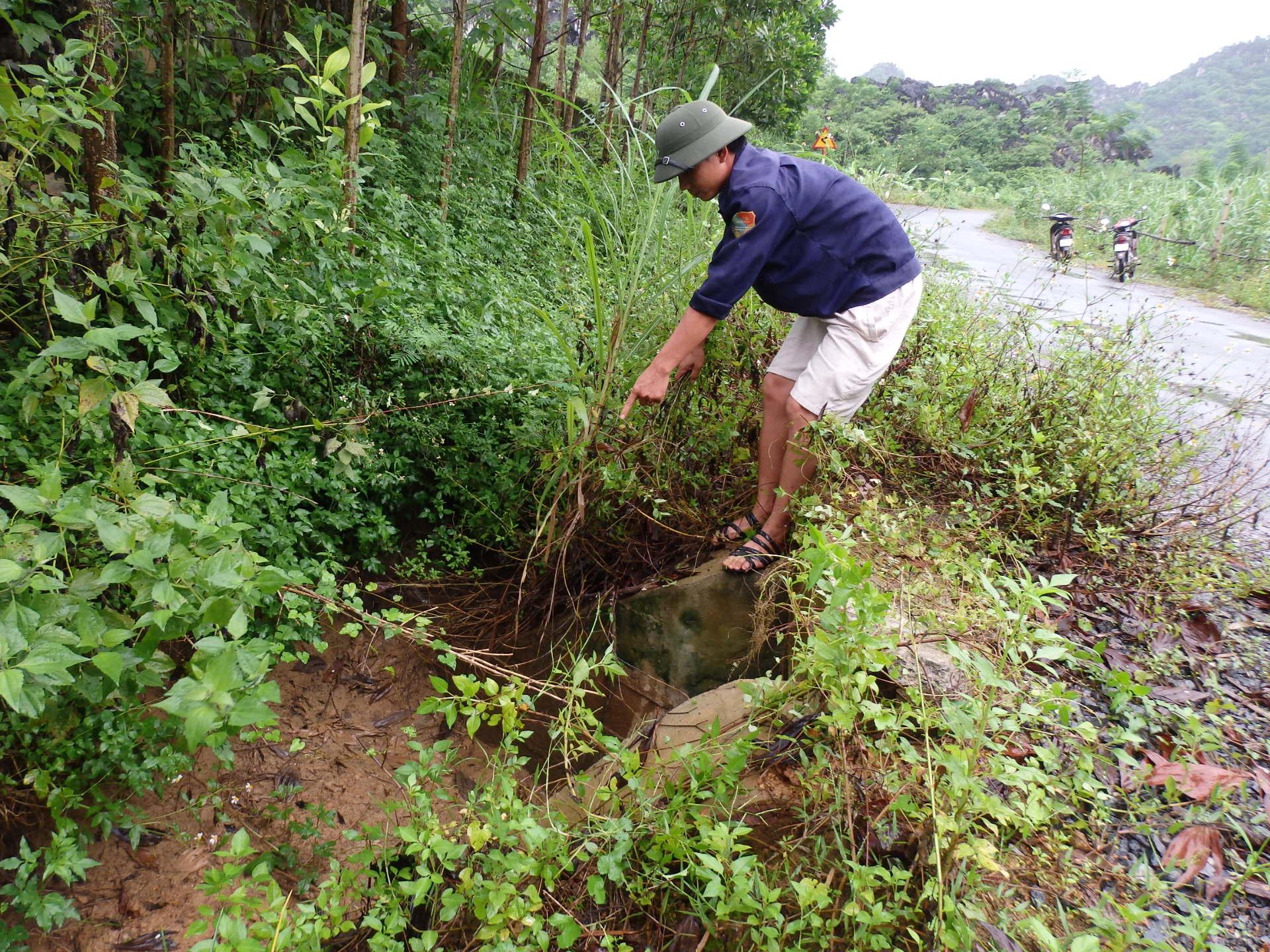 Cận cảnh hóa chất độc hại mà Nicotex Thanh Thái chôn xuống lòng đất ở Thanh Hóa 2