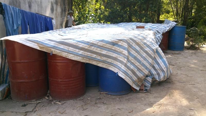 Cận cảnh hóa chất độc hại mà Nicotex Thanh Thái chôn xuống lòng đất ở Thanh Hóa 6
