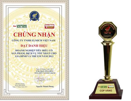 Elmich Việt Nam: Top sản phẩm, dịch vụ tốt cho gia đình 2013 1