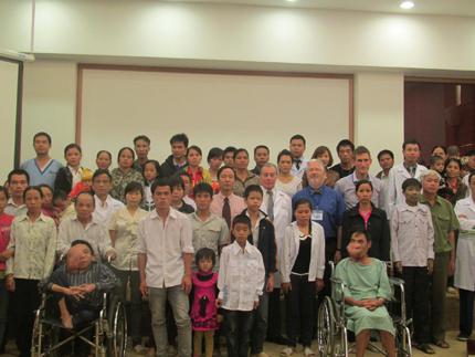 Vinmec phẫu thuật từ thiện cho bệnh nhân tỉnh Hòa Bình 7