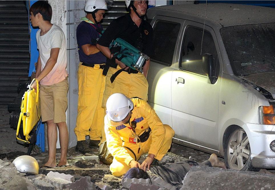 Nỗi đau kinh hoàng sau thảm họa nổ gas ở Cao Hùng 13