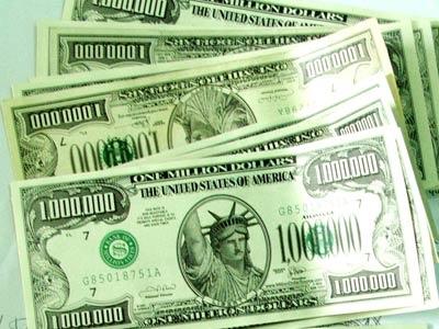 Những tờ bạc triệu USD.