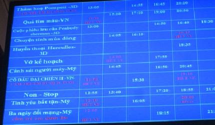 Rạp chiếu phim Quốc gia: Bị cấm mua vé, phe vé gạ người xem mua hộ 2