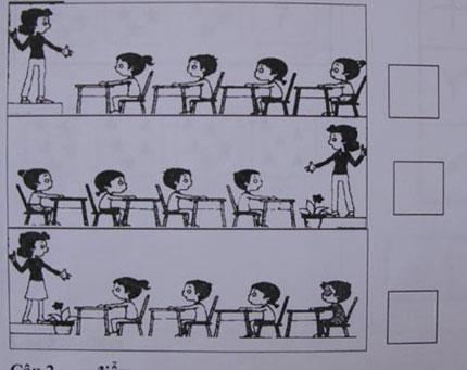 """Đề thi khó, trẻ phải học """"tiền lớp 1"""" 3"""