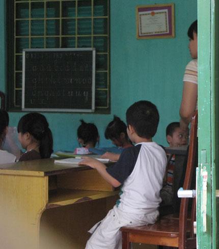 """Đề thi khó, trẻ phải học """"tiền lớp 1"""" 1"""
