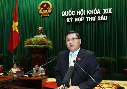 Quốc hội nghe báo cáo về đầu tư công: Ngăn bớt xén, thất thoát bằng luật 1