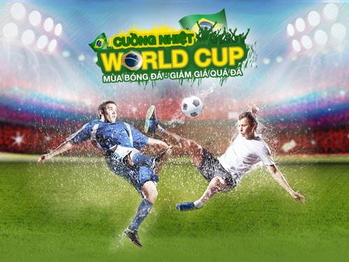 Sôi động World Cup 2014 cùng ngàn voucher tại Lazada 1