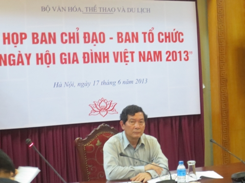 Điểm mới trong chương trình ngày hội Gia đình Việt Nam 2013 1