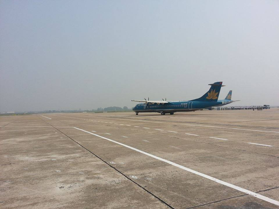 Cận cảnh máy bay đưa Đại tướng rời Hà Nội 6