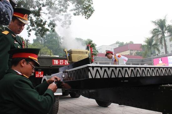 Cận cảnh công tác duyệt nghi thức Lễ tang Đại tướng 2