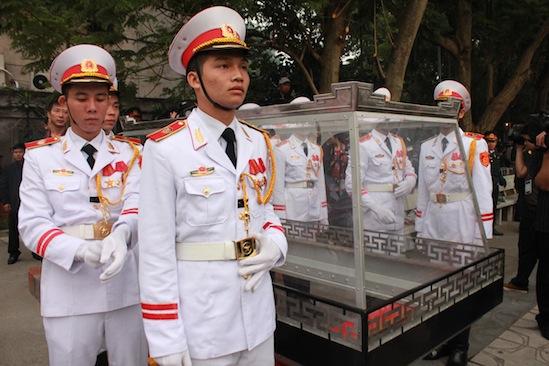 Cận cảnh công tác duyệt nghi thức Lễ tang Đại tướng 7