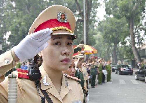 Những hình ảnh không thể quên trong lễ tang Tướng Giáp 8