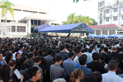 Những hình ảnh không thể quên trong lễ tang Tướng Giáp 3