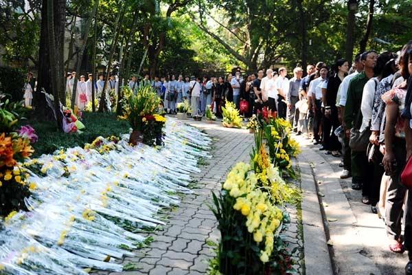 Những hình ảnh không thể quên trong lễ tang Tướng Giáp 1