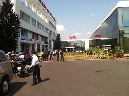 Tăng cường an ninh tại sân bay Tân Sơn Nhất 1