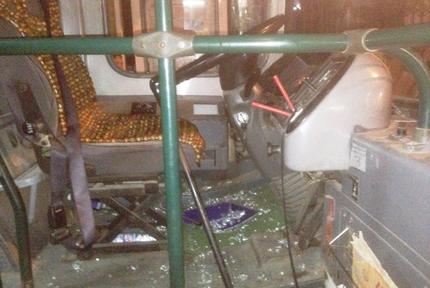Hàng loạt tài xế xe buýt bị hành hung 1