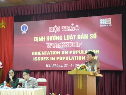 Xây dựng luật dân số: Đặt quyền của người dân lên trên hết 3