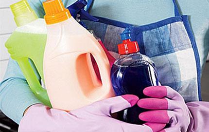 Nước tẩy rửa gây nguy hại cho phụ nữ, trẻ em 1