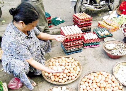 Trứng gà nhập lậu từ Trung Quốc giá 500 đồng/quả: Nguy cơ từ gà nhiễm dịch  1