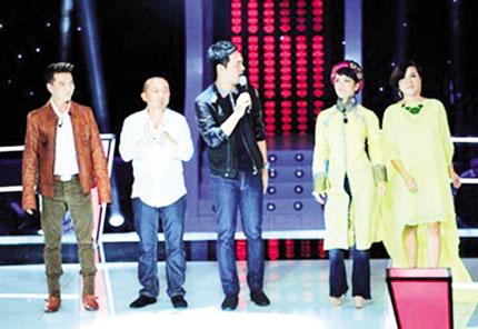"""HLV Giọng hát Việt 2013 """"tự đâm dao vào tim"""" 1"""