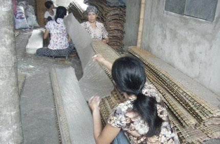 Bánh đa nem làng Chều và người giữ hồn quê 700 năm 1