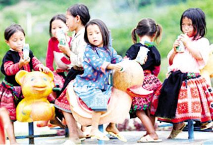 Năm năm triển khai Dự án chăm sóc và phát triển trẻ thơ tại cộng đồng: Cải thiện tình trạng dinh dưỡng trẻ em nghèo 1