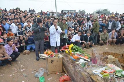 Bí ẩn trong ngôi mộ cổ 300 tuổi ở Quốc Oai, Hà Nội 1