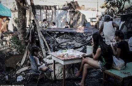 Hỏa hoạn khiến 1.000 ngôi nhà bị cháy rụi tại Philipinnes 1