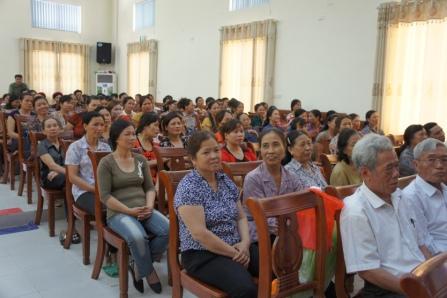 Hà Nội: Ghi nhận trong công tác giảm sinh ở Đa Tốn 1