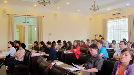 Hà Nội: Hơn 300 cán bộ được tập huấn sàng lọc trước sinh và sơ sinh 2