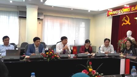 Tổng cục DS-KHHGĐ tiếp Ban Thư ký của Phó Tổng thống Indonesia 2