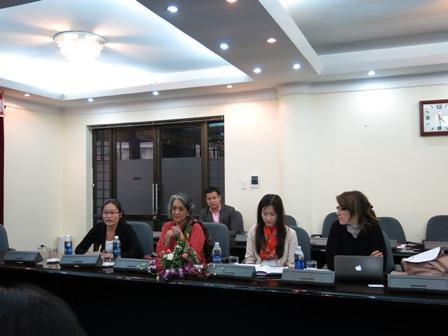 Tổng cục DS-KHHGĐ tiếp Báo cáo viên đặc biệt về quyền văn hóa của Hội đồng Nhân quyền Liên Hợp Quốc  3