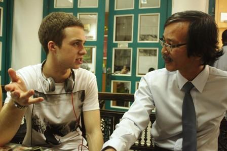 Thần đồng Văn học Nga Mikhail Samarsky đến Việt Nam 6