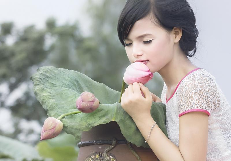 Ngỡ ngàng vẻ đẹp top 20 của Nữ sinh Việt Nam 1