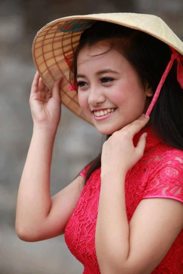 Ngỡ ngàng vẻ đẹp top 20 của Nữ sinh Việt Nam 4