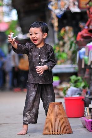 Những bức ảnh đẹp của gia đình Việt hướng về biển đảo Tổ quốc 12