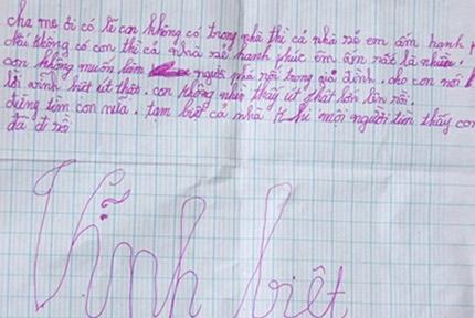 Vụ học sinh lớp 5 tự tử: Lời cảnh tỉnh cho cha mẹ 1