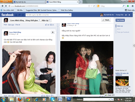 Minh Hằng bị lập FaceBook bôi nhọ nhân phẩm 5