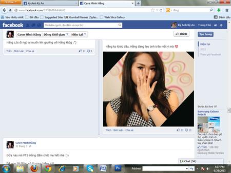 Minh Hằng bị lập FaceBook bôi nhọ nhân phẩm 9