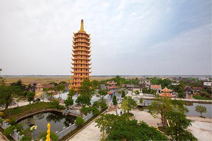 Khánh thành Bảo Tháp Đại Bi lớn nhất Nam Định 1