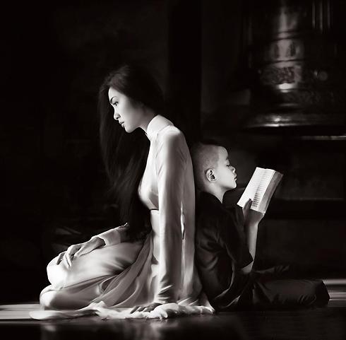 Tăng Thanh Hà đẹp hút hồn trong ảnh lịch 6