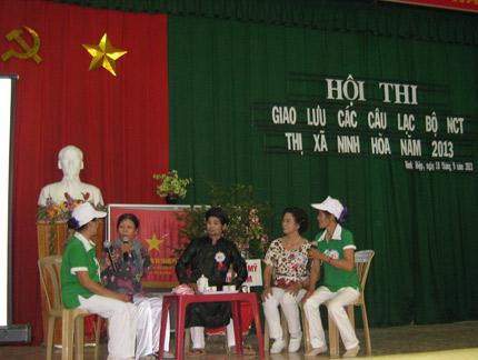 Khánh Hòa: Hội thi - giao lưu chăm sóc sức khỏe người cao tuổi 1