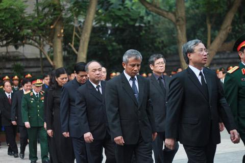 Lãnh đạo Đảng, Nhà nước thành kính viếng Đại tướng Võ Nguyên Giáp 4
