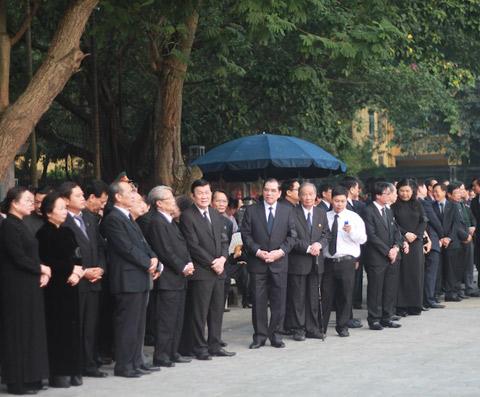 Lãnh đạo Đảng, Nhà nước thành kính viếng Đại tướng Võ Nguyên Giáp 9